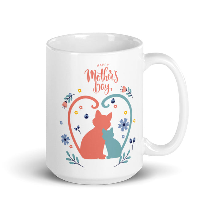 Mother's Day Cat Mug-HappyFriendy