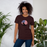US Flag Cat Silhouette Tee-HappyFriendy