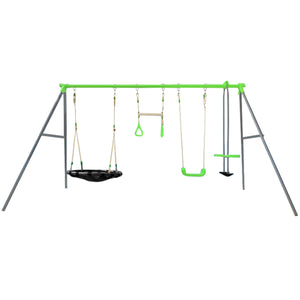 Lynx Metal Swing Set