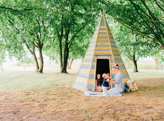 Plum Grand Wooden Teepee Hideaway