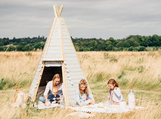 Plum Great Wooden Teepee