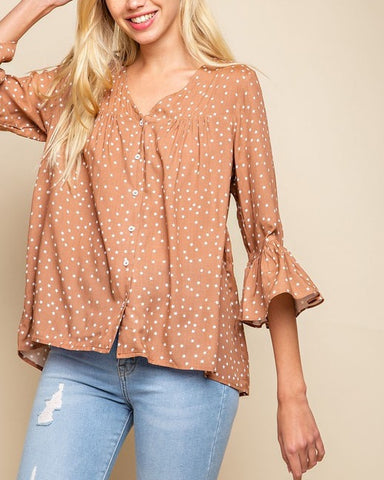 Ginger Star Blouse