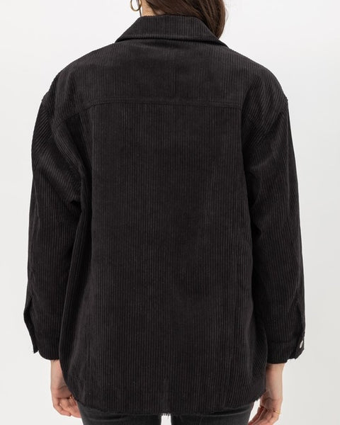 Dakota Black Corduroy Jacket