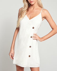 Mariah Oatmeal Mini Dress