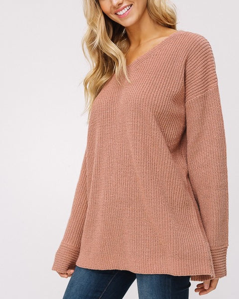 Iris - Brick Sweater