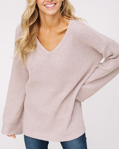 Iris - Light Mocha Sweater