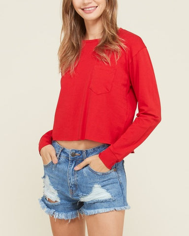 Gretchen - Long Sleeve Top