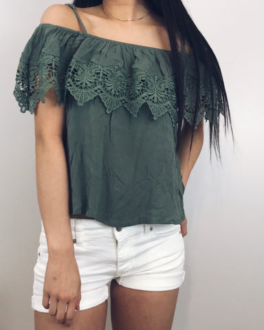 Taylor - Sage Green Blouse