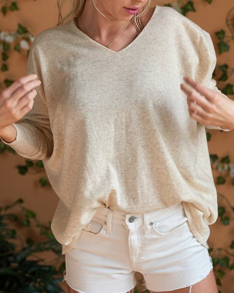 Ally Beige Sweater