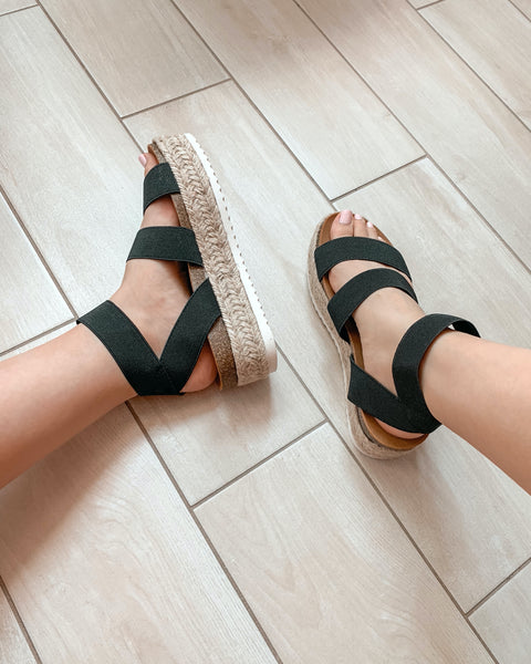 Kimberly Sandals - Black