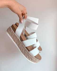 Kimberly Sandals - White