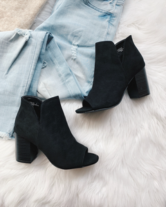 Aubrey Black Booties