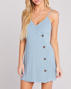 Mariah Baby Blue Mini Dress