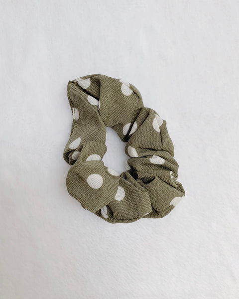 Polka Dot Scrunchies Set
