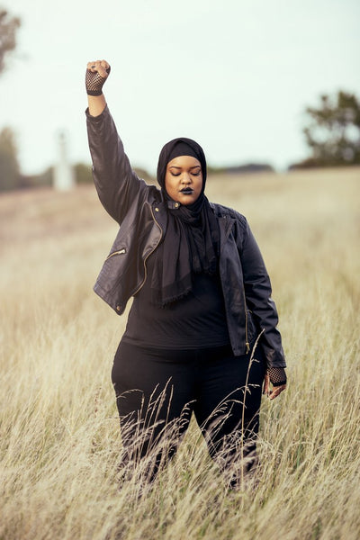 Standing At The Intersection of Fat, Black, and Muslim In America