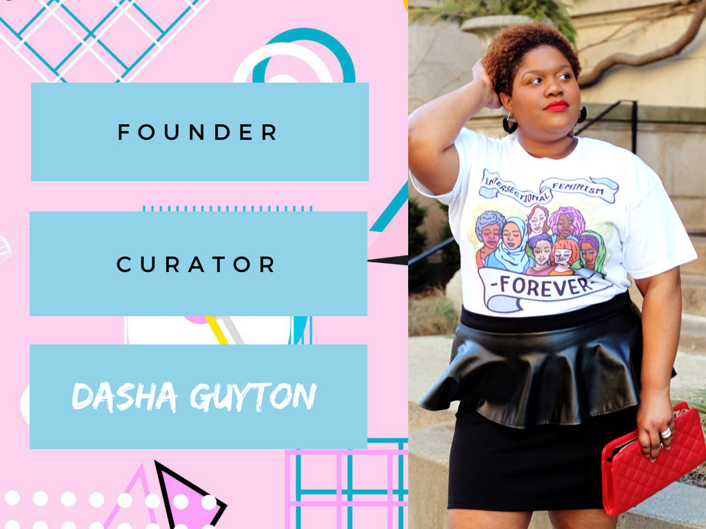 Dasha Guyton Blogger Writer Owner Feminist Speakeasy