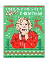 Betty White Christmas Card Feminist Gifts