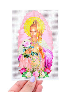 Feminist Speakeasy Beyonce Prayer Candle