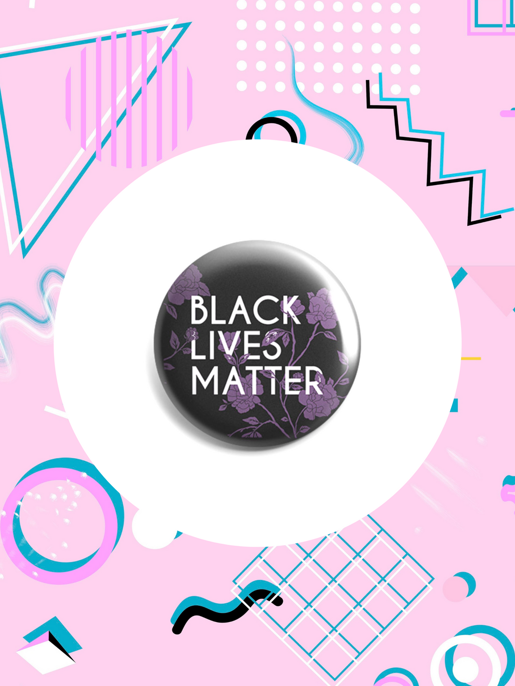 #BlackLivesMatter Button