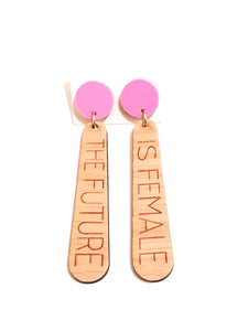 Feminist Earrings Speakeasy