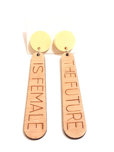 Feminist Earrings