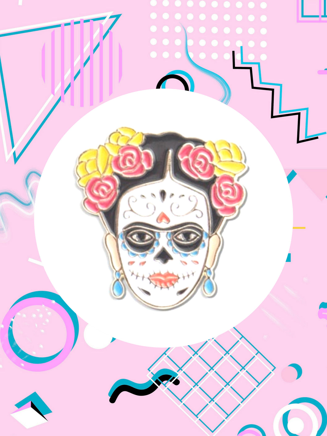 Frida Kahlo Day of The Dead Fashion Accessories Jewelry