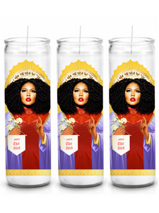 Lizzo Prayer Candle That Says, 100% That Bitch