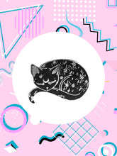 mystical cat pin