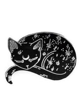 mystical cat pin punky pins