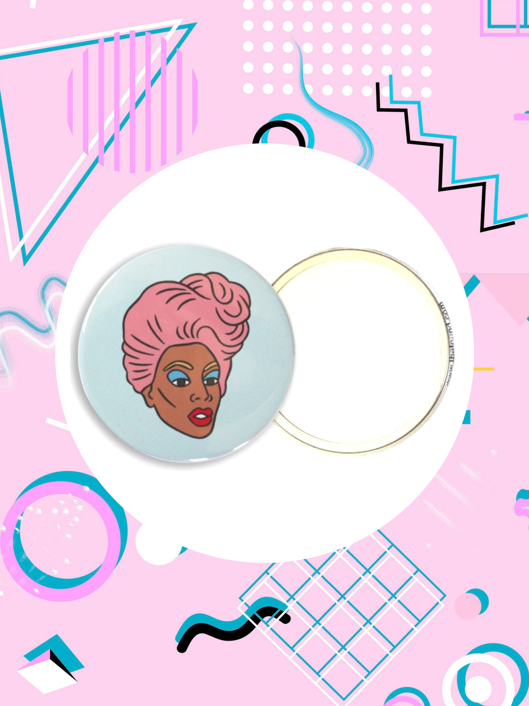 Ru Paul's Drag Race Pocket Mirror Gift
