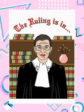 Ruth Bader Ginsburg Mother's Day Card