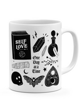 Self-Love, One Day At A Time Ceramic Mug