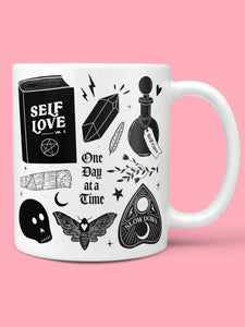 Self-Love /One Day At A Time Ceramic Mug