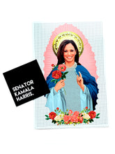 Kamala Harris Prayer Candle / Vinyl Sticker