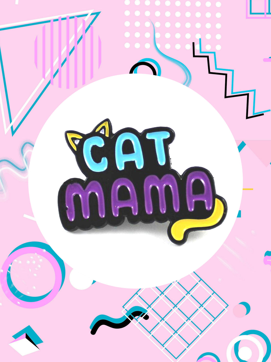 Cat MaMa Pin Gifts For Cat Lovers
