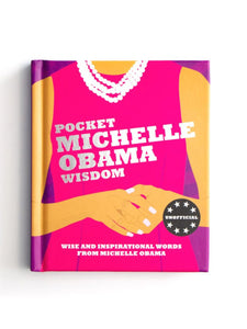 Pocket Michelle Obama Wisdom Feminist Gifts Under $20