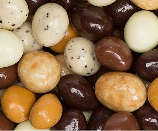 Chocolate Covered Espresso Coffee Beans - visitors