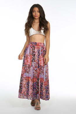 Sunset Vista Maxi Skirt - visitors