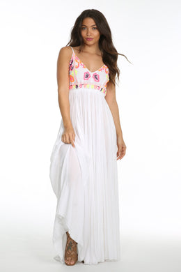 Sunset Canyon Backless Maxi - visitors