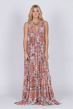 Sunset Gold Sleeveless Maxi - visitors