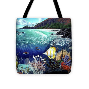 Aquarium At Makena - Tote Bag - visitors