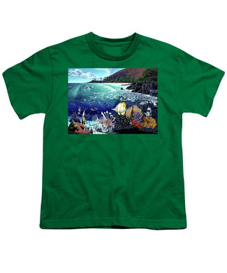 Aquarium At Makena - Youth T-Shirt - visitors