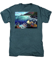 Aquarium At Makena - Men's Premium T-Shirt - visitors