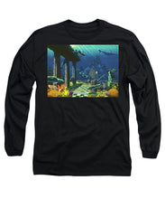 Aqueous Atlantis - Long Sleeve T-Shirt - visitors