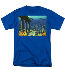 Aqueous Atlantis - Men's T-Shirt  (Regular Fit) - visitors