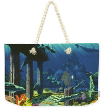 Aqueous Atlantis - Weekender Tote Bag - visitors