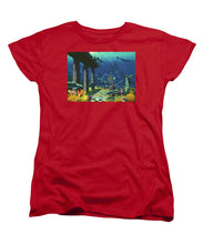 Aqueous Atlantis - Women's T-Shirt (Standard Fit) - visitors