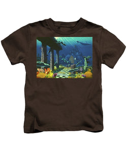 Aqueous Atlantis - Kids T-Shirt - visitors