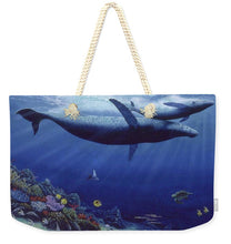 Baby Humpback - Weekender Tote Bag - visitors
