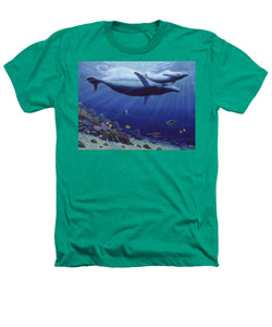 Baby Humpback - Heathers T-Shirt - visitors